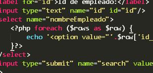 Llenar combobox/select/dropdown con Información de Base de Datos y